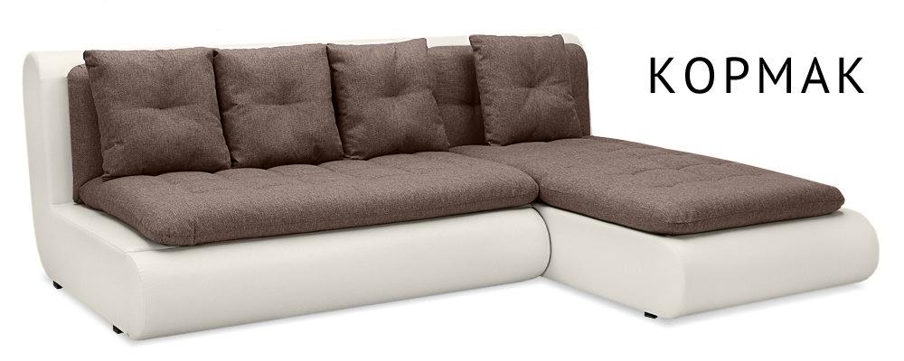 Купить Угловые тканевые диваны Кормак  Угловой диван HomeMe