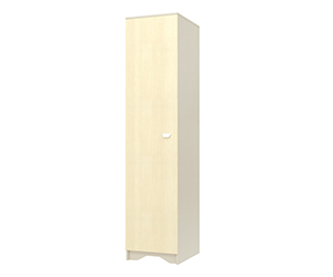 HomeMe Шкаф Венера-1 дверь (Капучино)