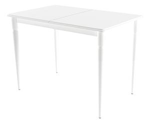 HomeMe Стол обеденный раздвижной Каттегат - 110/142 (молочный)