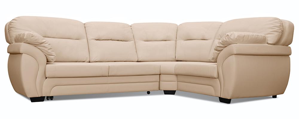 Кожаный угловой диван AAA0312001