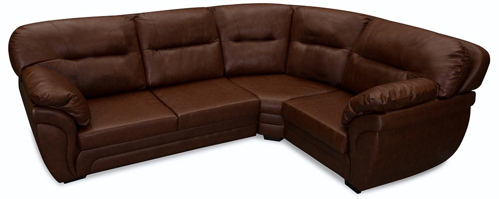 Кожаный угловой диван AAA0312004